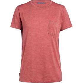 Icebreaker Nature Dye Drayden T-shirt Damer, madder root